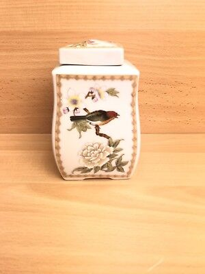 China Japan? Porcelain Pot Jar Container Ashes Container • 7.99£