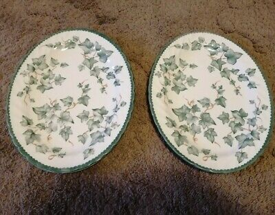 BHS - Country Vine - Oval Plate / Platter / Stake Plate X 2 • 17.49£