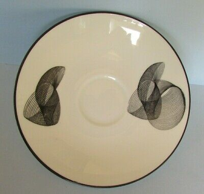 Fab Vintage Retro Geometric Queensberry Saucer Trinket Dish Crown Staffordshire • 3.75£