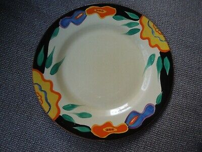 Clarice Cliff Large Garland Plate • 125£