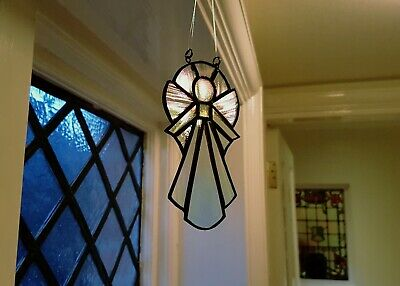 Mothers Day Stained Glass Angel Suncatcher  • 25£