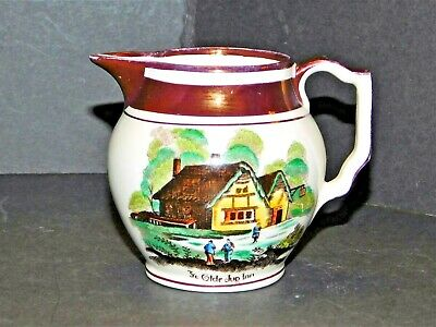 Grays Pottery Lustre  Ye Olde Jug Inn   With Rhyme On Reverse • 19.99£