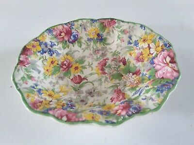 Midwinter Burslem Porcelon Chintz Dish • 12£