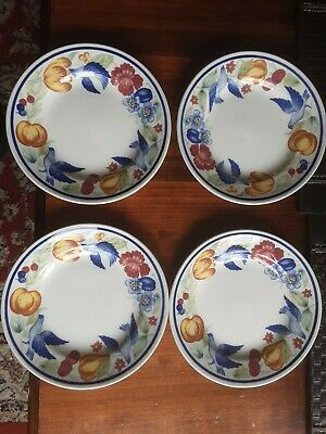 Vtg 4 X  Churchill The Chartwell Collection Side Plate Paloma 17 Cm Diameter • 7.99£