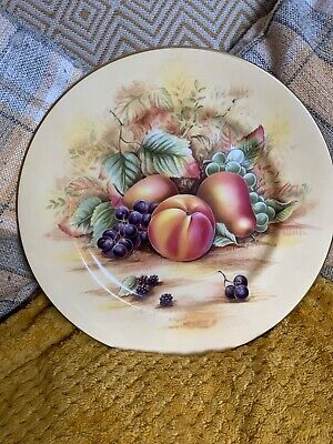 Aynsley Orchard Gold Side Plate 10.5inches • 14.99£