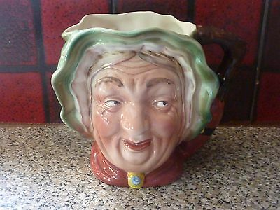 VINTAGE BESWICK WARE SAIREY GAMP No.317 LARGE CHARACTER JUG EXCELLENT FOR AGE • 34.95£