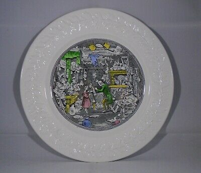 Adams Ironstone Collectors Plate----the Old Curiosity Shop---very Good Condition • 1.50£