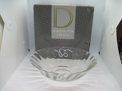 Dartington Crystal Ceres Fruit / Salad Bowl 9 3/4  Boxed • 11.99£