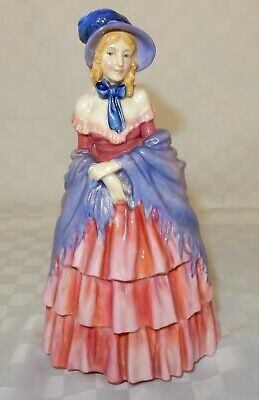Very Early Hand Written Royal Doulton Figurine A Victorian Lady HN 728 (S) • 49.99£