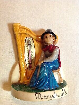 Vintage Manor Ware Design SAR Sandown Fireplace Thermometer Cat Collectable B5 • 5£