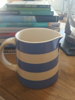 Large Cornishware Blue/White Striped Jug By T.G.Green, Perfect Condition • 6.50£