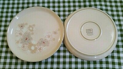 Denby Sandalwood Pair Of Dinner Plates. • 14.99£