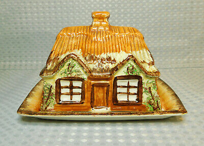 Vintage Retro Price Kensington Cottage Ware Lidded Butter / Cheese Dish • 3.59£