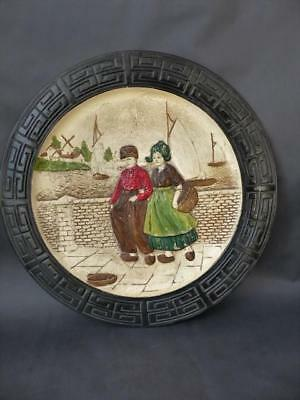 Bretby Art Pottery Wall Plaque - Tooth & Co Early 20th C Wall Art/Hanging • 44.99£