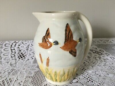 Shorter And Son Jug / Pitcher - Majolica Duck Design • 15£