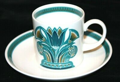 Susie Cooper Bone China Coffee Can & Saucer • 15.99£