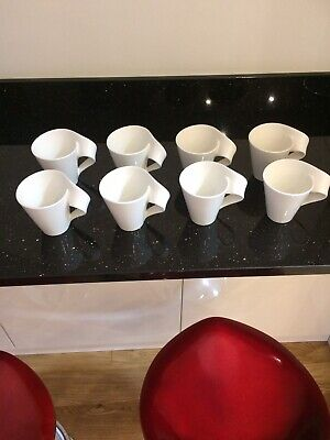 Villeroy & Boch New Wave Mugs. Set Of 8. • 80£