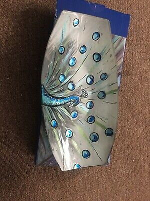 Blue Peacock Glass Ware Bowl • 2.50£