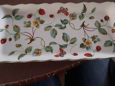James Kent Old Foley, Sandwich Tray Strawberries And Butterflies  • 1.40£