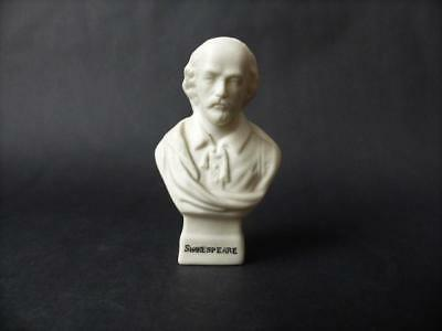 Antique W H Goss Parian Ware Bust Of Shakespeare • 24.99£