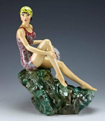 Peggy Davies / Kevin Francis The Bather Figurine, Limited Edition, Andy Moss • 165£