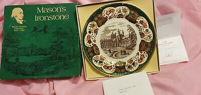 Masons Ironstone Decorative Plate Chester Cathedral Ltd Edition • 6.99£