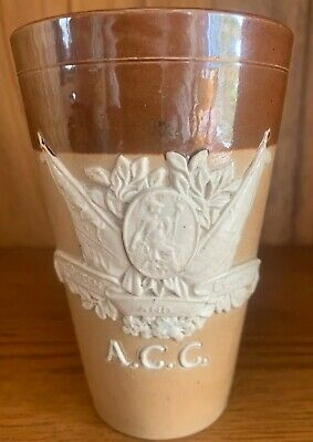 Doulton Lambeth ACC For Queen And Country Victoria Jubilee Commemorative Beaker • 95£