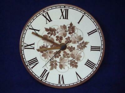 JERSEY POTTERY VINTAGE ORIGINAL WALL CLOCK - EXCELLENT WORKING CONDITION (iii) • 15£