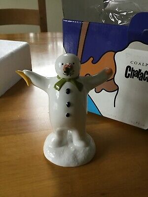 Coalport  First Edition The Snowman 'the Wrong Nose ' Figure - Boxed  • 19.99£