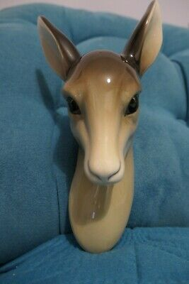 W R Midwinter Ltd Deer Head Wall Hanging - Beautiful Condition • 17£