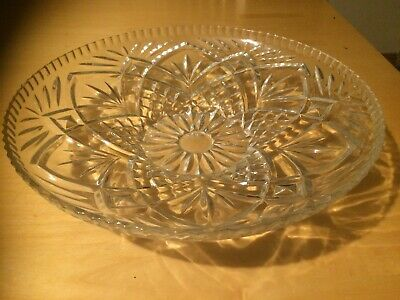 Glass Bowl 13 Inch • 0.99£