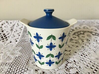 1960s Midwinter Roselle Design Preserve Pot With Lid • 12£