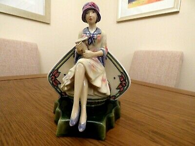Kevin Francis Ceramics Limited Edition Figurine Of  Charlotte Rhead  • 95£