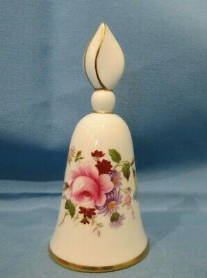 Vintage English Porcelain Royal Crown Derby Posies Candle Snuffer - 1st Quality • 12£