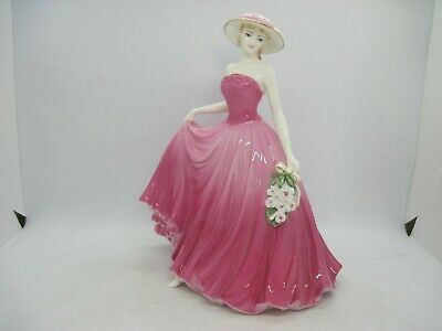 Limited Edition Coalport Figure Perfect Rose By J Bromley CW509 • 24.99£