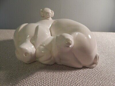 John Beswick Little Likeables Hide And Slep Pigs  • 6£