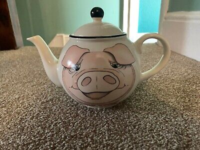 Arther Wood Pig Teapot, Great Condition • 3£