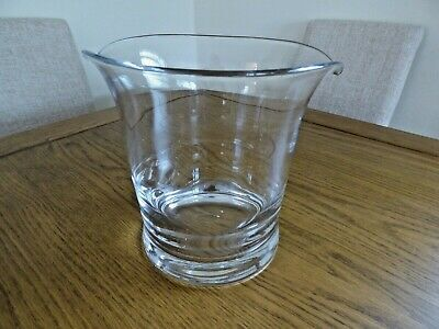 Dartington Glass Large Ice Bucket • 40£