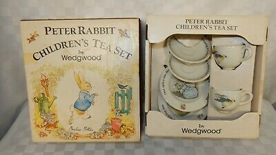 Vintage Wedgwood Child's Peter Rabbit Tea Set Boxed • 21.99£