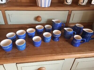 Devon And Blueware Named Pottery • 5£