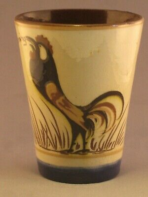 Hart & Moist Exeter Motto Ware Cockerel Beaker.  • 9.99£
