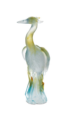 DAUM Heron 02258 French Crystal Made In France • 800.98£