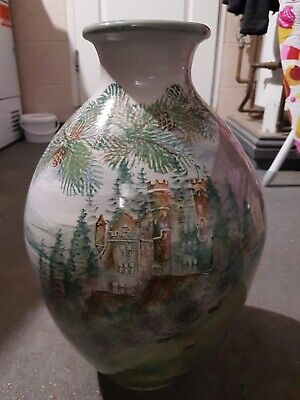Struie  TAIN Pottery Giant Vase Hand Painted In The Scottish Highlands • 100£
