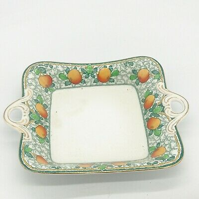 Antique Vintage John Maddock Royal Vitreous New Town Two Handle Bowl Dish • 8.99£