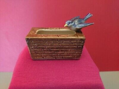 Vintage Branksome China Small Hand Painted Porcelain Trough With Blue Bird • 3.90£