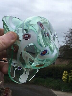 Unusual Glass Bowler Hat Perthshire ? • 39£