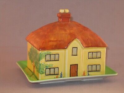 Vintage Carlton Ware COTTAGE Butter Dish And Cover.. • 19.99£
