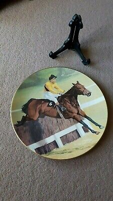 Racing Horse Plate Of Arkle By Royal Doulton 1994 Collectors Gallery Edition. • 10.50£