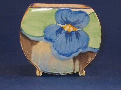 Clarice Cliff Delicia Pansies Bonjour Sugar Base Beautiful Condition. • 65£