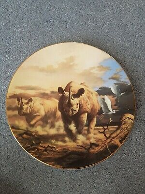 Royal Doulton L/E Under African Skies Plate - Ready To Charge  • 15£